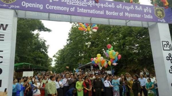 Myanmar opens new checkpoints on border with India hinh anh 1