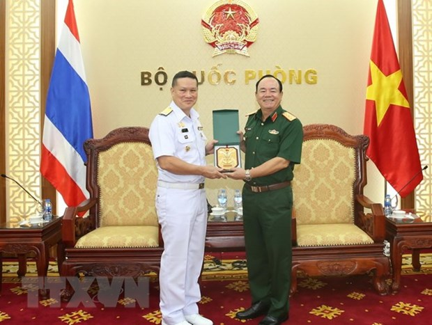 Vietnamese, Thai navies enhance hydrographic cooperation hinh anh 1