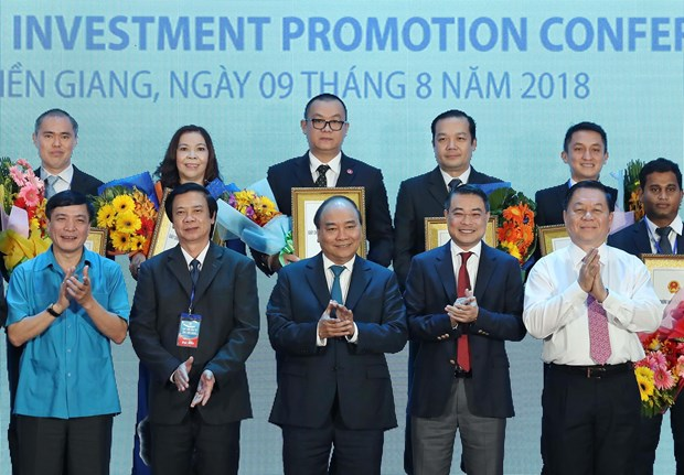 Tien Giang praised for unity in investment climate improvement hinh anh 1