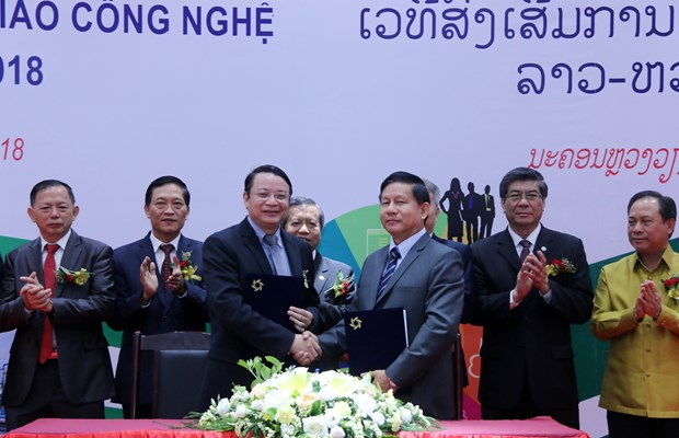 Forum helps promote Vietnam – Laos technology connection hinh anh 1