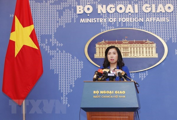 Vietnam resolutely opposes China's recent activities in Hoang Sa hinh anh 1