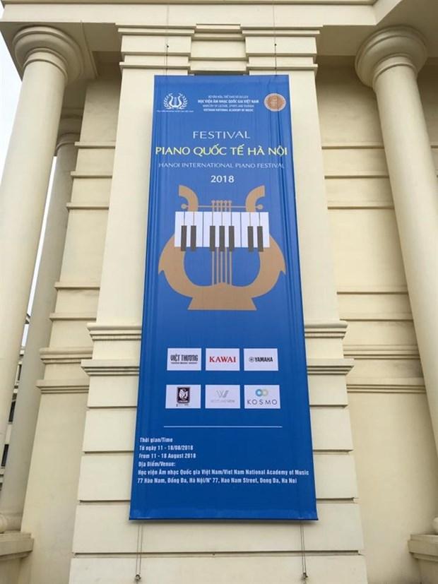 Hanoi International Piano Festival begins hinh anh 1