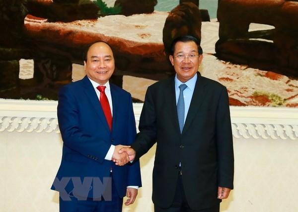 PM Hun Sen: Cambodia treasures ties with Vietnam hinh anh 1
