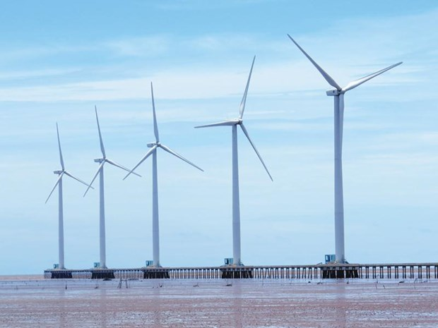 Investors eye wind power development in Soc Trang hinh anh 1