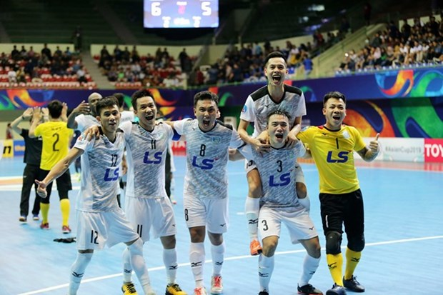 Vietnam win ticket for AFC Futsal Club final hinh anh 1
