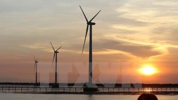 Tra Vinh: Over 144 million USD invested in wind power plant hinh anh 1