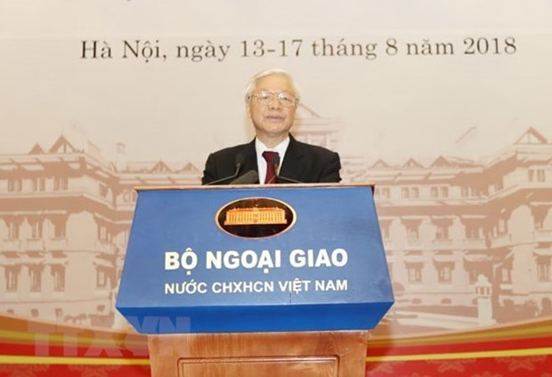 30th Diplomatic Conference opens in Hanoi hinh anh 2
