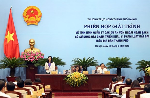 Hanoi to revoke 47 long-delayed projects hinh anh 1