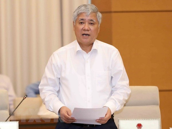 NA Standing Committee holds interpellation of Cabinet ministers hinh anh 1