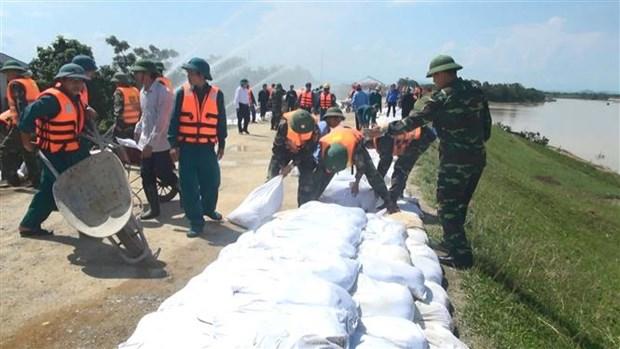 Thanh Hoa holds flood preparation, response drills hinh anh 1
