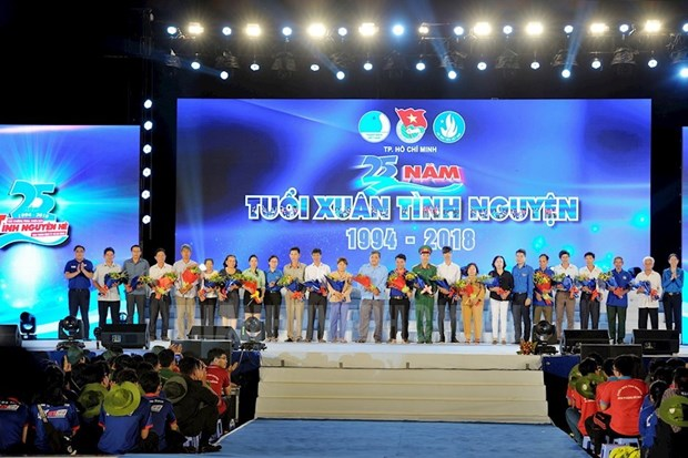 HCM City marks 25th anniversary of summer voluntary campaigns hinh anh 1