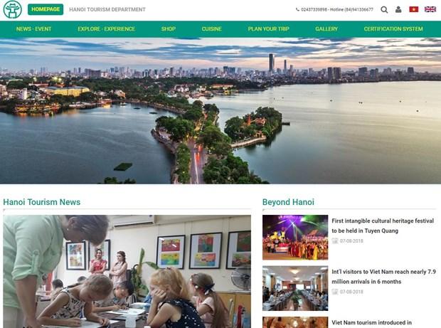 Hanoi launches tourism portal hinh anh 1