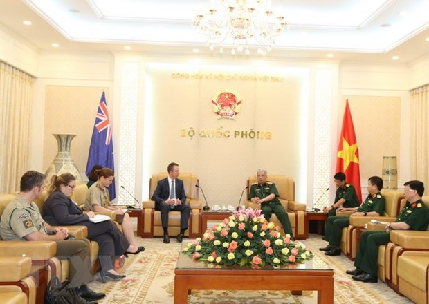Vietnam-Australia defence consultation expected to boost cooperation hinh anh 1