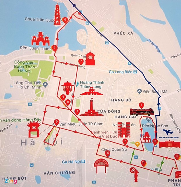 Hanoi hop-on hop-off tour costs less, offers more hinh anh 3