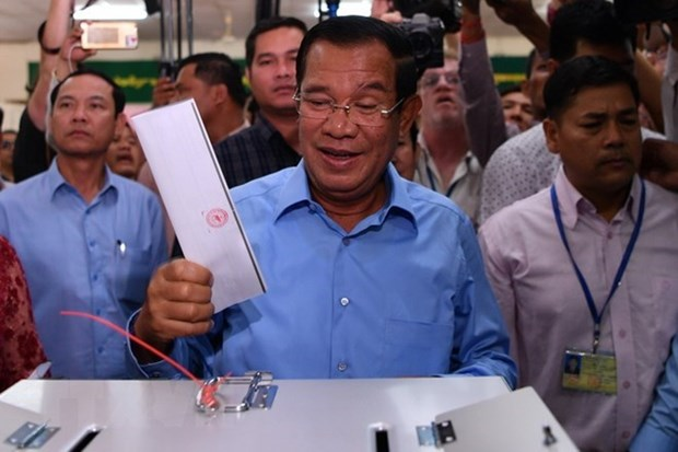 CPP wins all seats in parliament: election committee hinh anh 1
