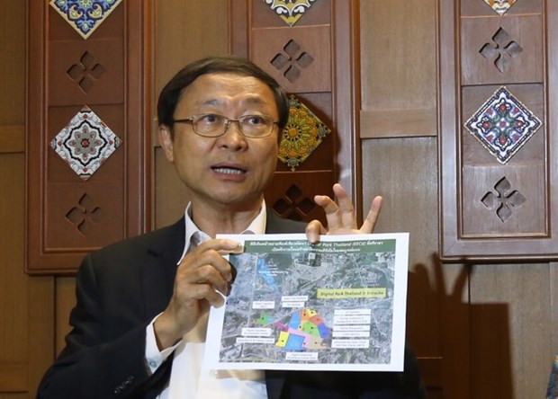 Thai government launches digital park project in EEC hinh anh 1