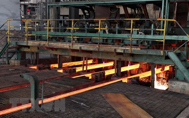 Vietnamese steel sector amidst US-China trade war hinh anh 1
