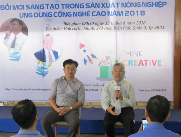 Contest seeks startup initiatives in high-tech agriculture hinh anh 1