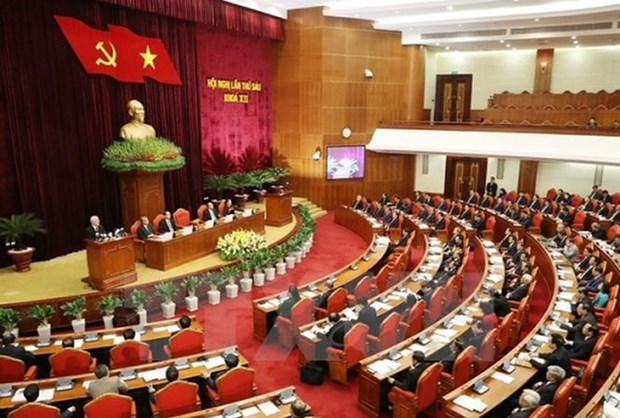Politburo issues conclusion on pilot models in political system hinh anh 1