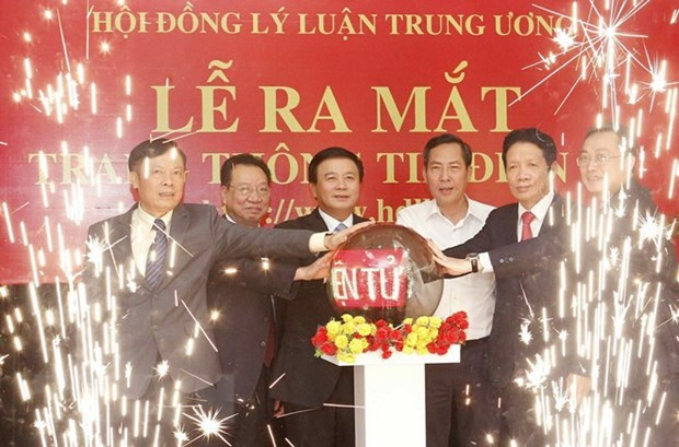 Central Theoretical Council's portal launched hinh anh 1