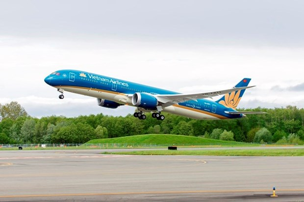 Vietnam Airlines' pre-tax profit surges 87 percent in six months hinh anh 1