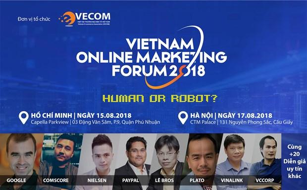 Vietnam Online Marketing Forum 2018 opens in Hanoi hinh anh 1