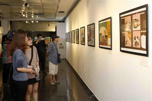 Exhibition on Vietnam's subsidy period opens in Hanoi hinh anh 1
