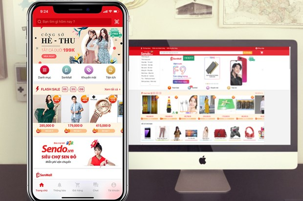 Vietnam's e-commerce platform raises 51 mln USD from foreign investors hinh anh 1