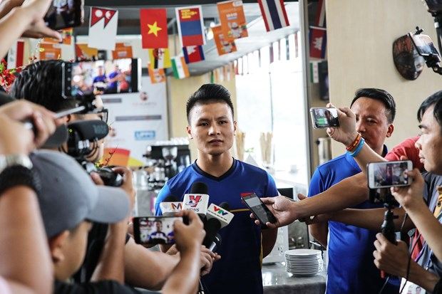 ASIAD 2018: Vietnam ready to face Japan hinh anh 1
