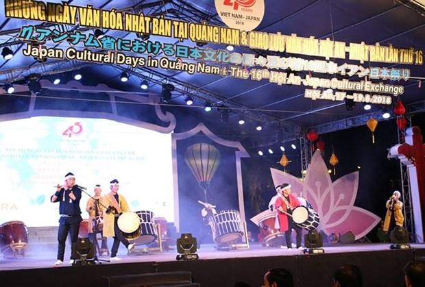 Activities celebrating Vietnam-Japan ties open in Quang Nam hinh anh 1