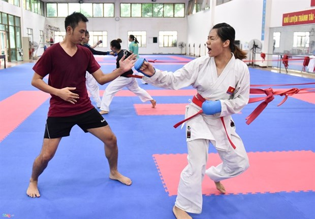 Martial arts still a gold mine for Vietnam at ASIAD 2018 hinh anh 1