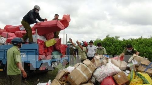 Long An reduces number of smuggling, trade fraud cases hinh anh 1