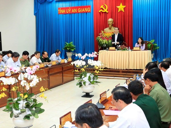 An Giang requested to promote sustainable economic development hinh anh 1