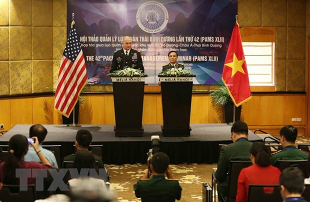 42nd Pacific Armies Management Seminar opens in Hanoi hinh anh 1