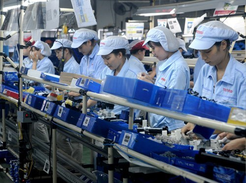Bac Ninh attracts 332.5 million USD in FDI in 7 months hinh anh 1