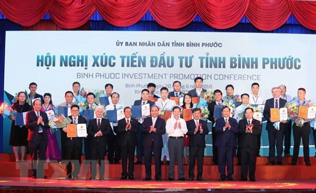Binh Phuoc licenses 19 projects totalling 1 billion USD hinh anh 1