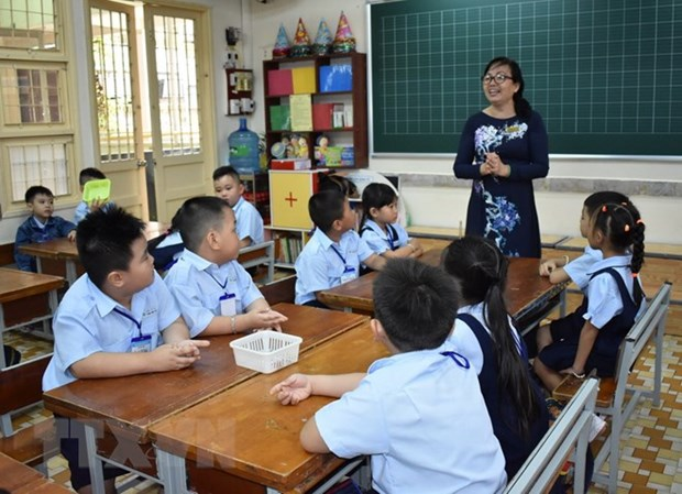 HCM City: Over 1 million students enter new school year hinh anh 1
