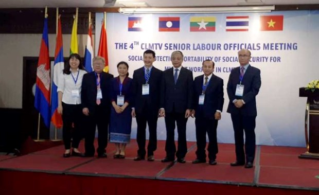 CLMTV countries discuss social insurance for migrant workers hinh anh 1