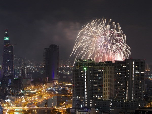 HCM City to set off fireworks on National Day hinh anh 1