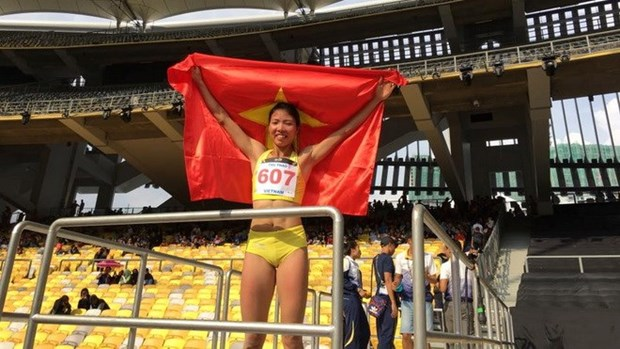 ASIAD 2018: Track and field athletes ready to seek golds hinh anh 1
