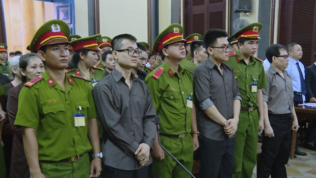 Members of reactionary organisation stand trial for coup attempt hinh anh 1