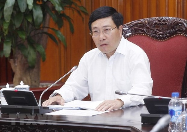 Deputy PM instructs preparations for WEF ASEAN hinh anh 1