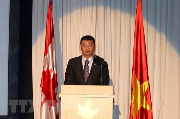 HCM City celebrates Vietnam-Canada diplomatic relations hinh anh 1