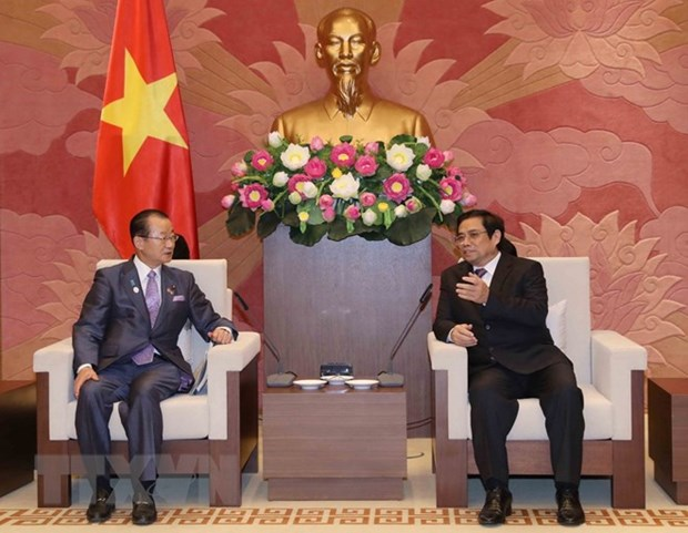 Vietnam, Japan boost parliamentary friendship hinh anh 1