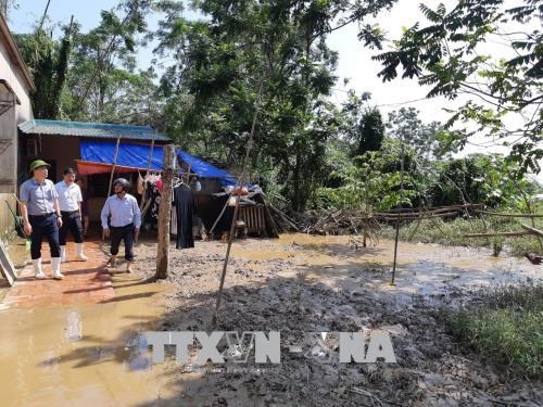 Thanh Hoa supports flood-hit residents after storm hinh anh 1