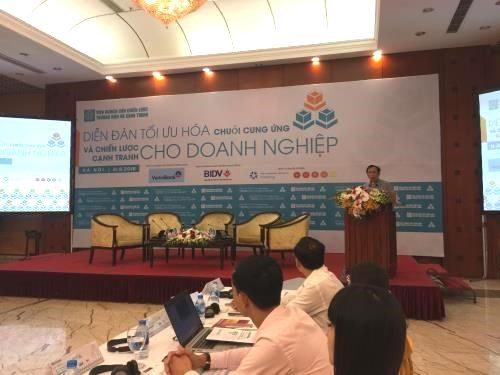 Forum discusses optimising supply chain, business strategy hinh anh 1