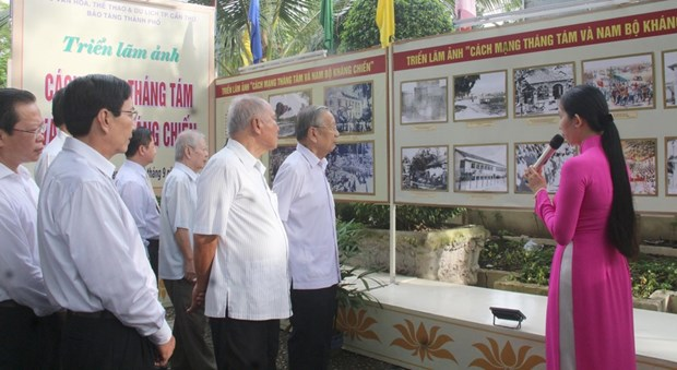 Photo exhibition on August Revolution, Southern Resistance War hinh anh 1