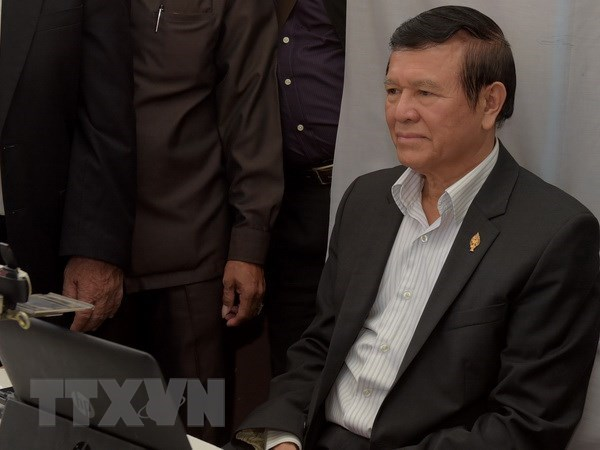 Cambodia's former opposition leader denied bail again hinh anh 1