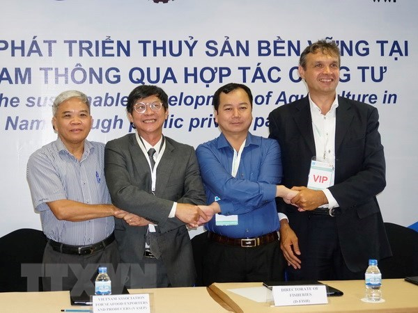 Mekong Delta PPP sustainable fishery development project launched hinh anh 1