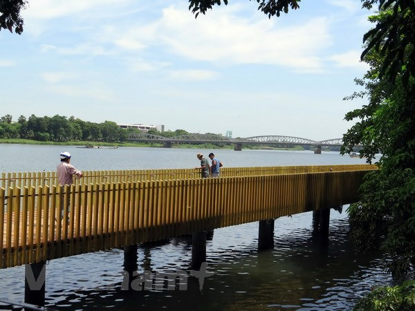 Hue to inaugurate pedestrian road along Huong riverbank in Sept hinh anh 1